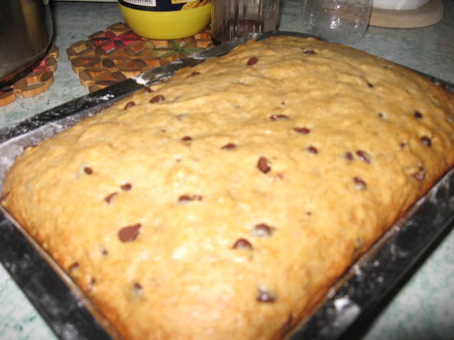 banana chocolate chip bread